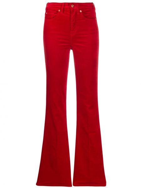 Расклешенные джинсы слим фит на пуговицах 7 For All Mankind