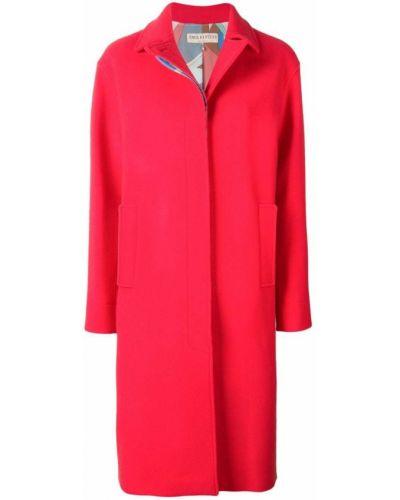 Длинное пальто с капюшоном Emilio Pucci