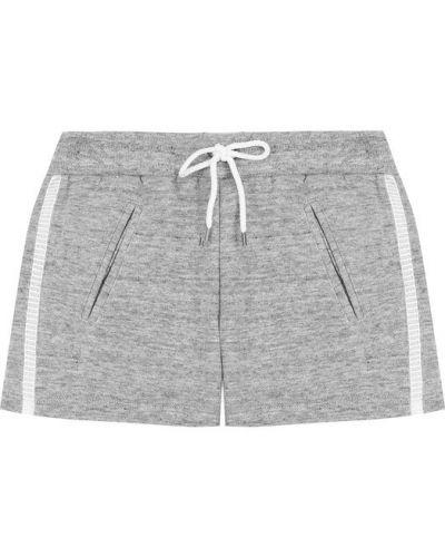 Серые короткие шорты Chloé