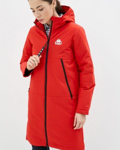 Утепленная куртка - красная Kappa