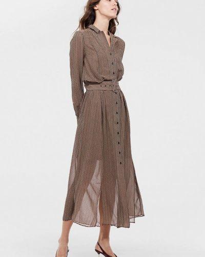 Платье прямое осеннее Lime