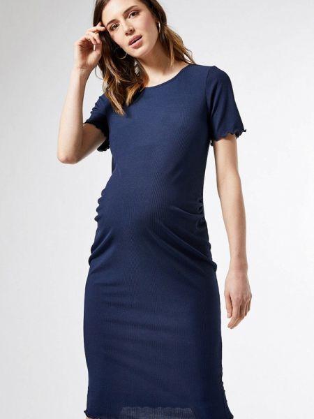 Синее платье для беременных Dorothy Perkins Maternity