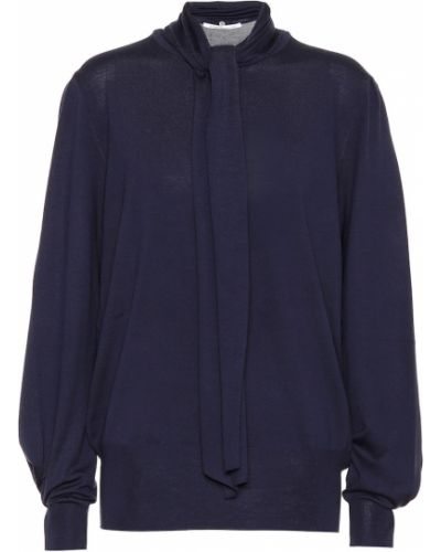 Синий свитер Agnona