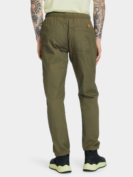 Повседневные зеленые брюки Timberland