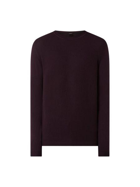 Prążkowany czarny sweter wełniany S.oliver Black Label