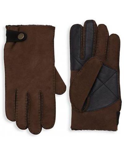 Ciepłe rękawiczki skorzane Ugg