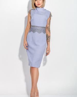 Ажурное джинсовое платье Time Of Style