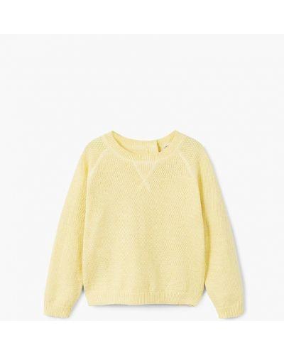 Желтый свитер Mango Kids