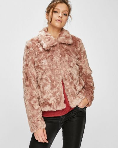 Утепленная куртка укороченная прямая Vila