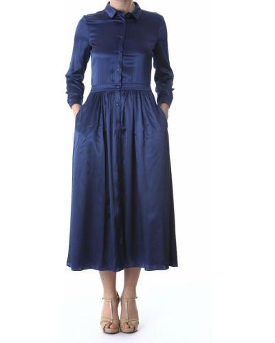 Niebieska sukienka Aglini
