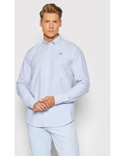 Niebieska koszula La Martina