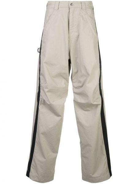 Спортивные серые спортивные брюки с карманами на шнурках Phipps