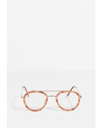 Солнцезащитные очки круглые металлические Parfois