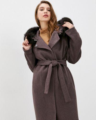 Коричневое пальто Electrastyle