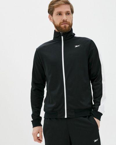 Костюмный черный спортивный костюм Reebok