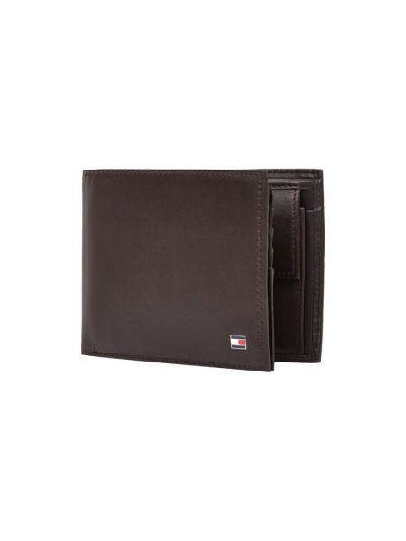 Brązowy portfel skórzany Tommy Hilfiger