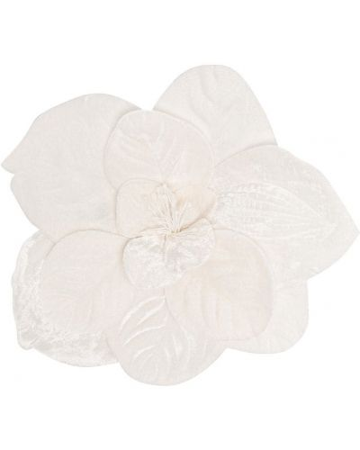 Broszka - biała Piccola Ludo