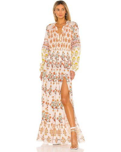 Кружевное платье - белое Hemant And Nandita
