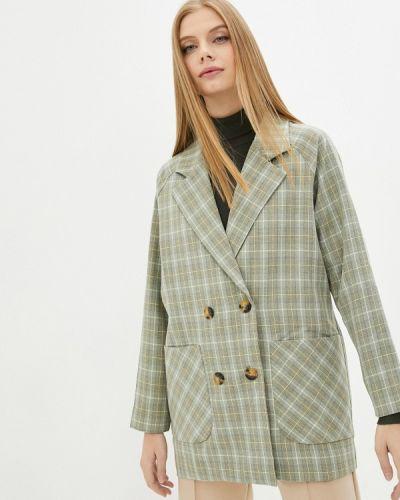 Зеленый зимний пиджак Grafinia