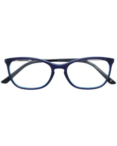 Очки кошачий глаз синий Swarovski Eyewear