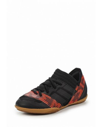 Бутсы текстильный черный Adidas
