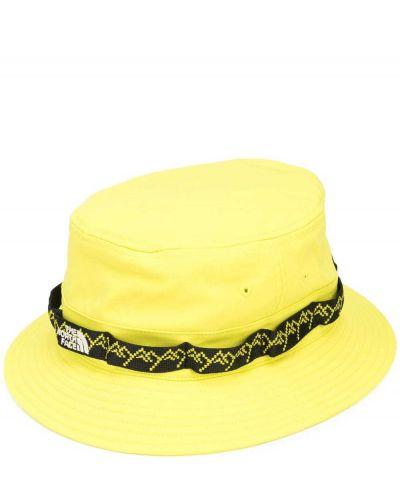 Żółty klasyczny kapelusz z nylonu The North Face