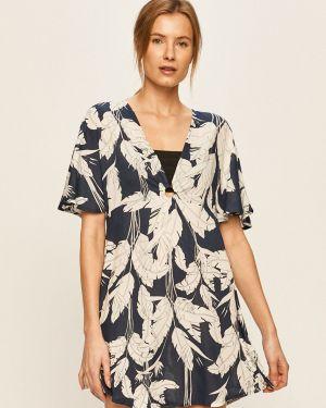 Пляжное платье из вискозы с V-образным вырезом Roxy