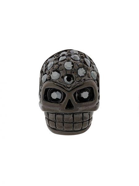 Серьги с черепами черный Northskull