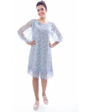Вечернее платье со складками на резинке Wisell