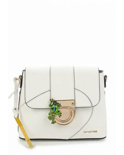 Белая сумка через плечо Cromia