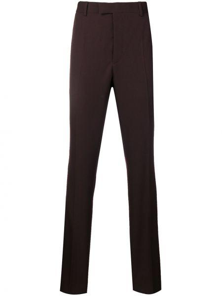 Fioletowe spodnie z paskiem Calvin Klein 205w39nyc