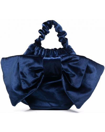 Niebieska torebka bawełniana Simonetta