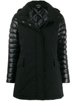 Черная куртка с капюшоном Colmar
