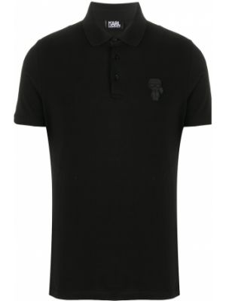 Koszula krótkie z krótkim rękawem klasyczna prosto Karl Lagerfeld