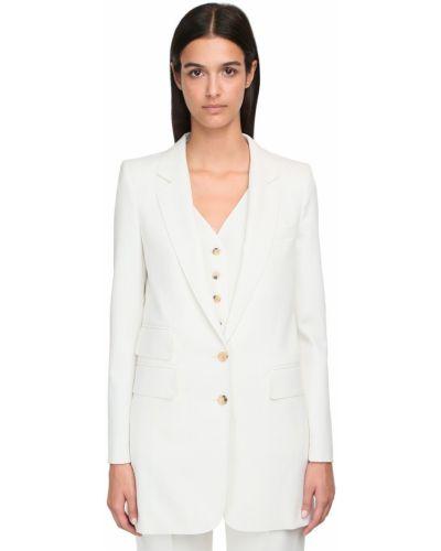 Пиджак двубортный с накладными карманами Max Mara