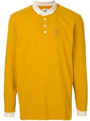 Koszula bawełniana z haftem z długimi rękawami Kent & Curwen