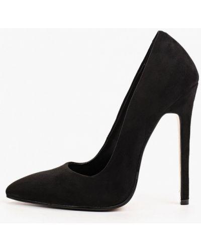 Черные зимние туфли Diora.rim