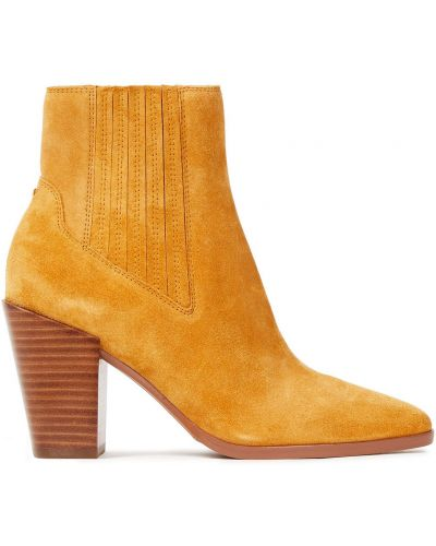 Ankle boots zamszowe na obcasie Rag & Bone