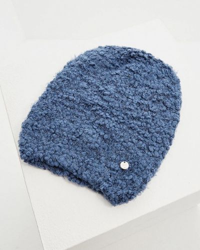 Синяя шапка осенняя Liu Jo