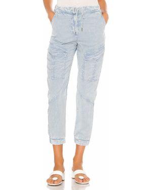 Niebieskie spodnie Yfb Clothing