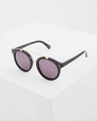 Черные солнцезащитные очки Stella Mccartney