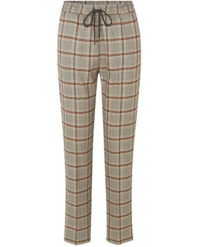Brązowe spodnie Munthe