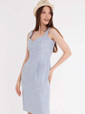 Прямое платье - голубое Gregory