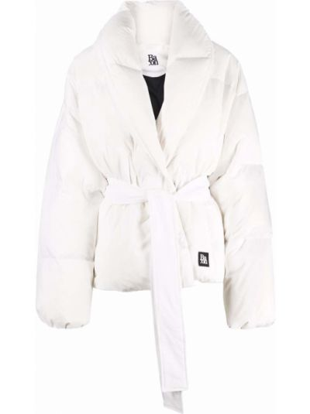 Пуховая куртка - белая Bacon
