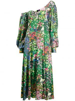 Платье макси длинное - зеленое Natasha Zinko