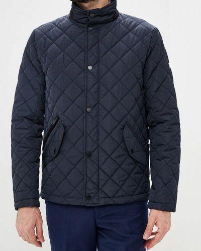 Утепленная куртка демисезонная синяя Ostin