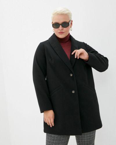 Черное пальто Dorothy Perkins Curve