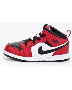 Кожаные кроссовки Jordan