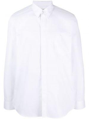Bawełna z rękawami koszula z mankietami Givenchy