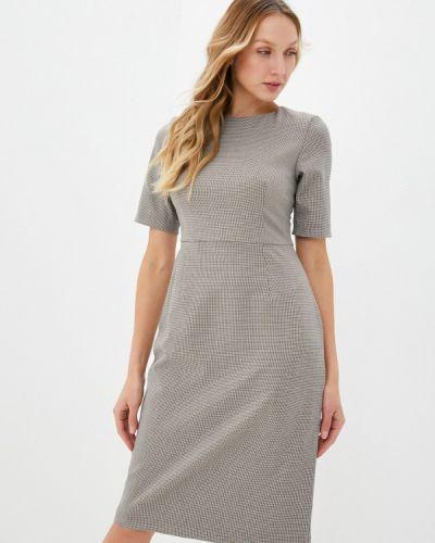 Бежевое платье-футляр Danmaralex